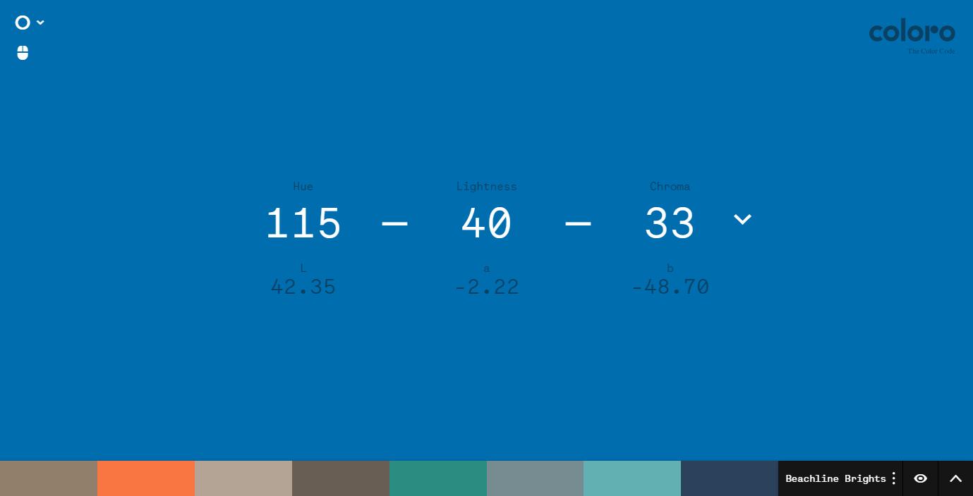 Coloro 工作平台